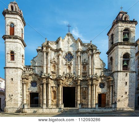 Cathedral Of The Virgin Mary Of The Immaculate Conception (1748-1777), Havana, Cuba