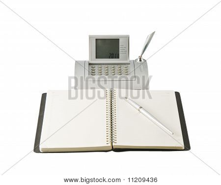 Wall Clock And Calculator