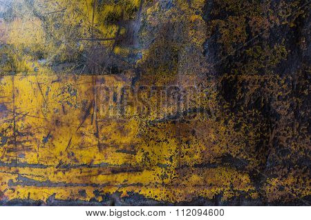 Metal Rusty Corroded Texture Background