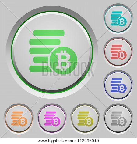 Bitcoins Push Buttons