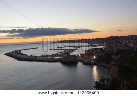 View of Sciacca, Agrigento, Sicily, Italy