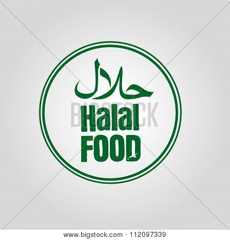 Halal food icon