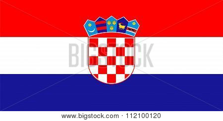 Standard Proportions For Croatia Flag