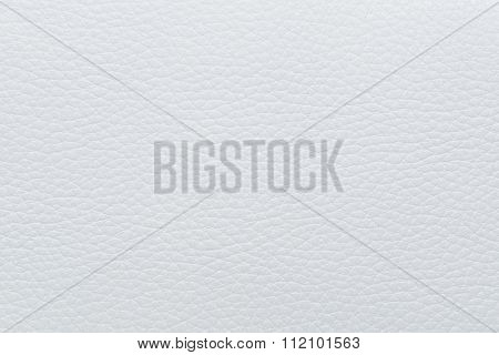 Beige Leather Texture, White Cow Skin For Background.