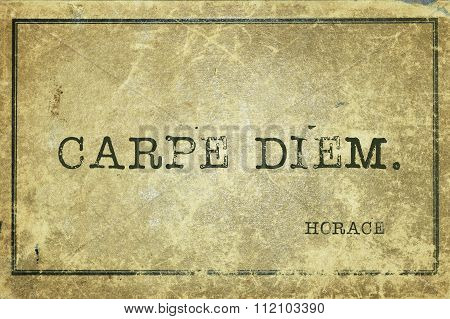 Carpe Diem Horace