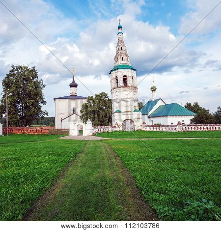 Church Of Boris And Gleb In Kideksha (1152), Unesco World Heritage Site, Suzdal