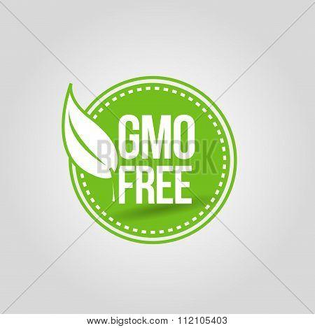 GMO free green icon