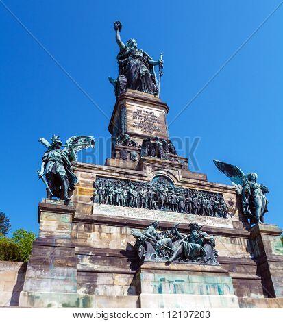Niederwald Monument,   Ruedesheim On Rhein