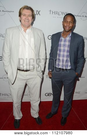 LOS ANGELES - DEC 18:  Robert Maltbie, Amiel Traynum at the GENLUX Issue Release Party featuring Beverly Johnson at the The Rodeo Collection on December 18, 2015 in Beverly Hills, CA