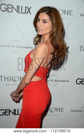 LOS ANGELES - DEC 18:  Blanca Blanco at the GENLUX Issue Release Party featuring Beverly Johnson at the The Rodeo Collection on December 18, 2015 in Beverly Hills, CA