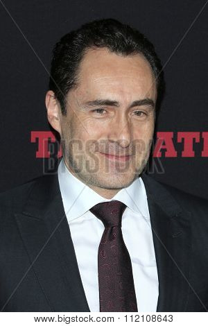 LOS ANGELES - DEC 7:  Demian Bichir at the
