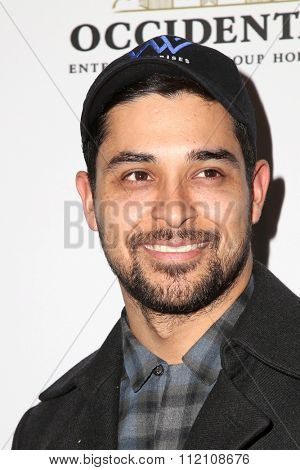 LOS ANGELES - DEC 8:  Wilmer Valderrama at the 25th Annual Simply Shakespeare at the Broad Stage on December 8, 2015 in Santa Monica, CA