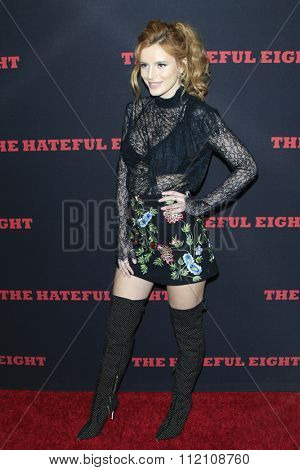 LOS ANGELES - DEC 7:  Bella Thorne at the