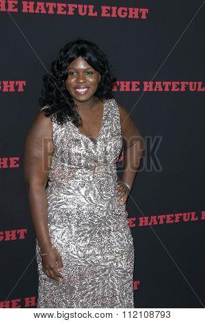 LOS ANGELES - DEC 7:  Belinda Owino at the