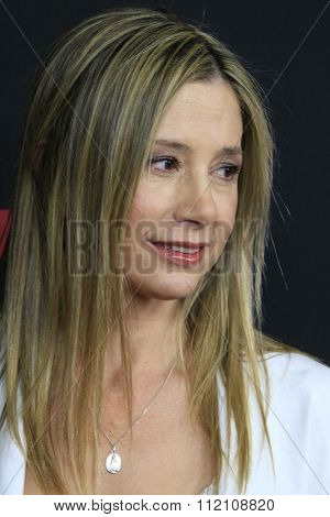 LOS ANGELES - DEC 7:  Mira Sorvino at the