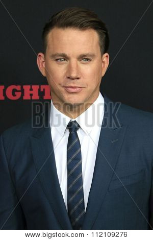 LOS ANGELES - DEC 7:  Channing Tatum at the