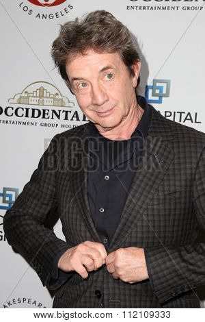 LOS ANGELES - DEC 8:  Martin Short at the 25th Annual Simply Shakespeare at the Broad Stage on December 8, 2015 in Santa Monica, CA