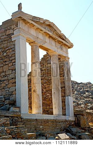 Archeology  In  Greece The  And Old  Site