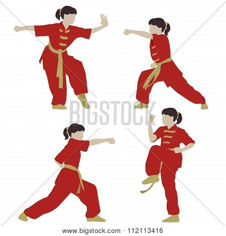 Wushu girl