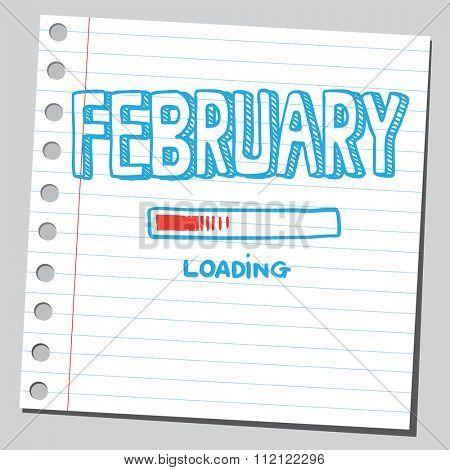 February loading
