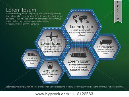 Shipping,transportation,presentation,brochoure, Magazine Cover,icon.