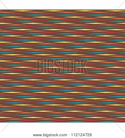 Seamless bright horizontal abstract pattern