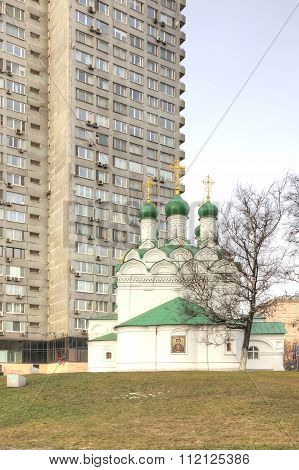 Moscow. Church Of Simeon Stylites