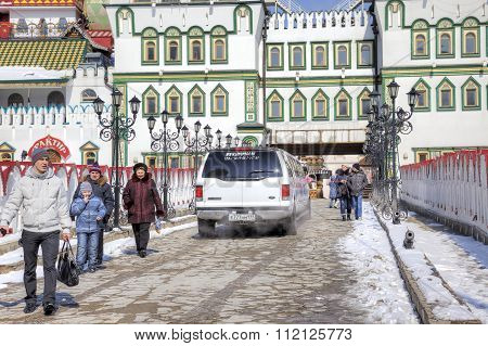 Moscow. Kremlin In Izmailovo