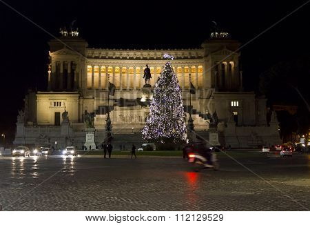 The Altar Of The Fatherland in Rome