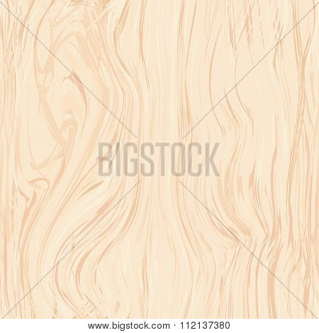 Seamless Pattern Of Birch