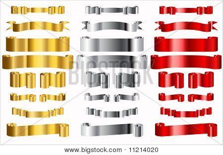 Metallic Ribons