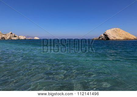 Beach Of Folegandros