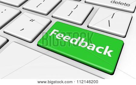 Feedback Customer Survey Button