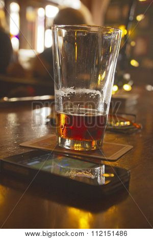 Beer And A Cell Phone