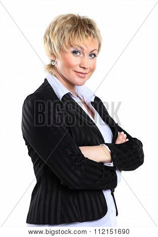 business woman in her 40s