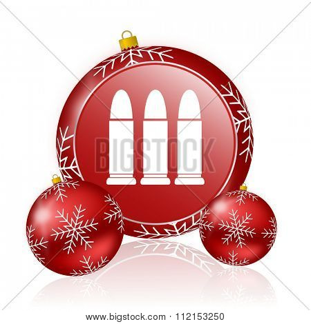 ammunition christmas icon