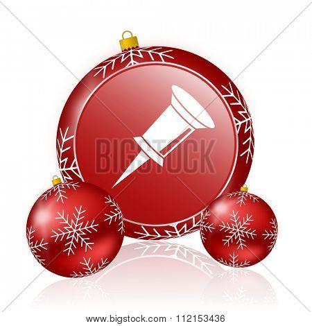 pin christmas icon