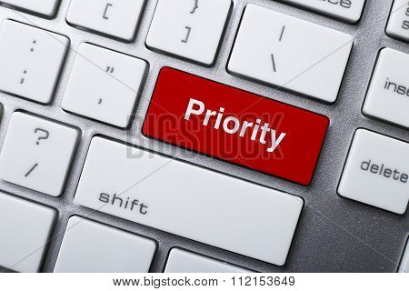 Priority Button On Keyboard