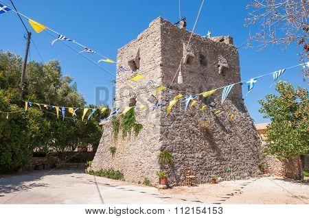 Tower Of Anafonitria Monastery