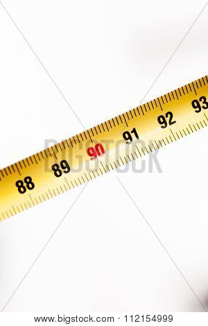 Measuring Tape Ruler Cm Numbers 90