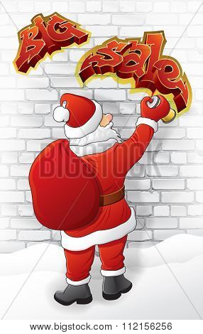 Santa draws
