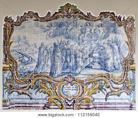 Panel Of Portuguese Tiles