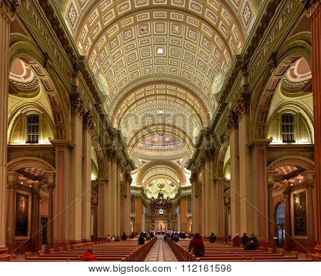 Mary Queen Of The World Cathedral - Montreal, Quebec, Canada