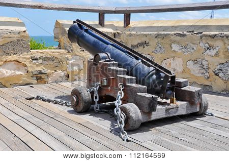 Signal Cannon Facing the Ocean