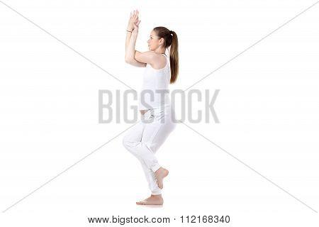 Prenatal Yoga, Garudasana