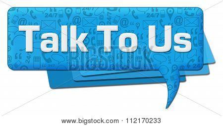 Talk To us Comment Symbol Texture