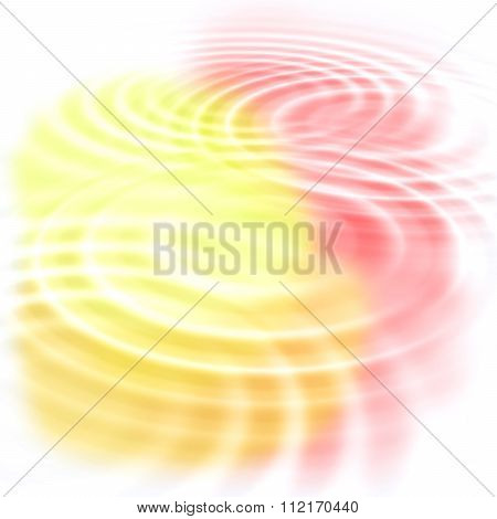Abstract Color Ripples