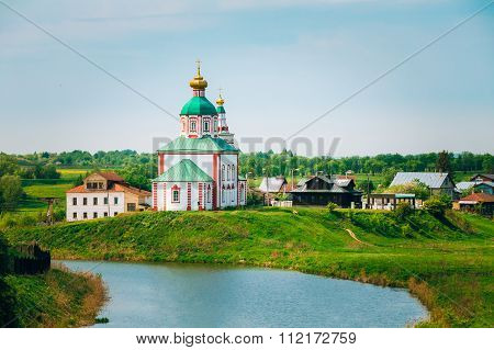 Church of Elijah the Prophet or Elias Church - church in Suzdal, Russia.