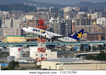 Skymark Airlines Boeing 737-800 Airplane