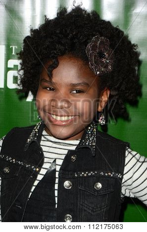 LOS ANGELES - DEC 9:  Trinitee Stokes at the